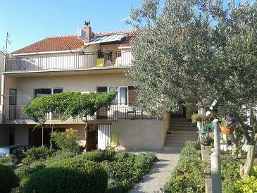Property Brodarica (Šibenik) - Accommodation 11235 - Apartments with pebble beach.