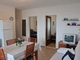 Stomorska, Living room u smještaju tipa apartment, dostupna klima i WIFI.