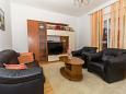 Biograd na Moru, Living room u smještaju tipa apartment, WIFI.