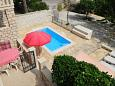 Courtyard Supetar (Brač) - Accommodation 11360 - Apartments near sea with pebble beach.