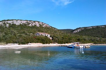Property Uvala Kobiljak (Pašman) - Accommodation 11391 - Vacation Rentals near sea with rocky beach.