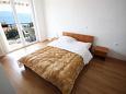 Novi Vinodolski, Bedroom 2 u smještaju tipa apartment, dopusteni kucni ljubimci i WIFI.