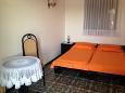 Rogoznica, Bedroom u smještaju tipa studio-apartment, dostupna klima i WIFI.