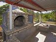 Courtyard Uvala Tudorovica (Korčula) - Accommodation 11426 - Vacation Rentals with pebble beach.