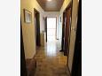 Podgora, Hallway u smještaju tipa apartment, dopusteni kucni ljubimci i WIFI.