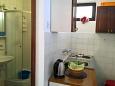 Orebić, Kitchen u smještaju tipa apartment, dostupna klima i WIFI.