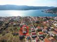 Property Poljica (Trogir) - Accommodation 11454 - Apartments with pebble beach.