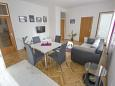 Split, Esszimmer in folgender Unterkunftsart apartment, dostupna klima i WIFI.