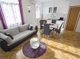 Split, Wohnzimmer in folgender Unterkunftsart apartment, WIFI.