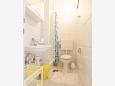 Bathroom - Studio flat AS-11461-a - Apartments Privlaka (Zadar) - 11461