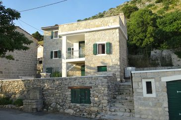 Property Podstrana (Split) - Accommodation 11467 - Vacation Rentals with pebble beach.