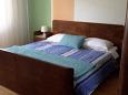 Umag, Bedroom 1 u smještaju tipa apartment, dopusteni kucni ljubimci i WIFI.
