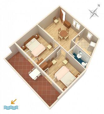 Apartament A-115-a - Apartamenty Hvar (Hvar) - 115