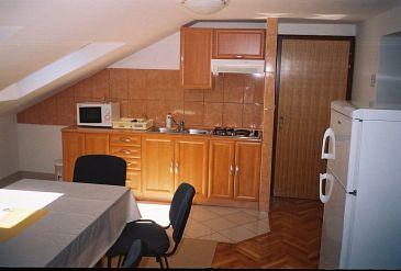 Vodice, Kitchen u smještaju tipa apartment, WIFI.