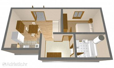Apartment A-1155-a - Apartments Vis (Vis) - 1155