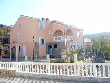 Property Klenovica (Novi Vinodolski) - Accommodation 11559 - Apartments with pebble beach.