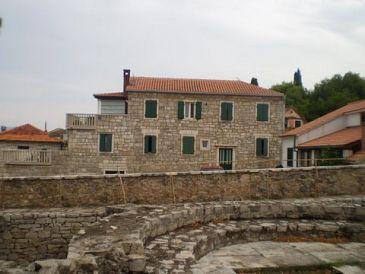 Property Postira (Brač) - Accommodation 11582 - Apartments with pebble beach.