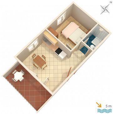 Apartament A-116-b - Apartamenty Basina (Hvar) - 116