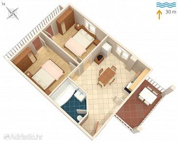 Apartament A-1164-a - Apartamenty Marina (Trogir) - 1164