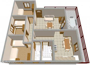 Apartment A-1166-a - Apartments Vinišće (Trogir) - 1166