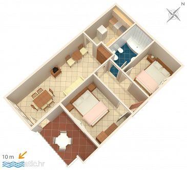 Apartment A-1168-a - Apartments Vinišće (Trogir) - 1168