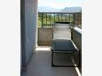 Balcony 2 - Apartment A-11682-a - Apartments Ostrvica (Omiš) - 11682