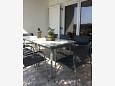 Balcony 1 - House K-11698 - Vacation Rentals Novi Vinodolski (Novi Vinodolski) - 11698
