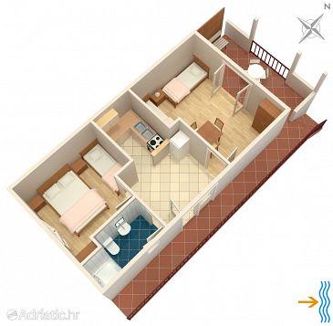 Apartment A-117-a - Apartments Mudri Dolac (Hvar) - 117