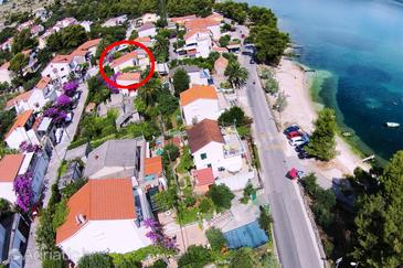 Property Mastrinka (Čiovo) - Accommodation 11720 - Apartments near sea with pebble beach.