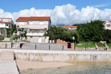 Property Barbat (Rab) - Accommodation 11797 - Apartments near sea with pebble beach.
