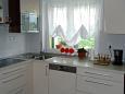 Vranjic, Kitchen u smještaju tipa apartment, WIFI.