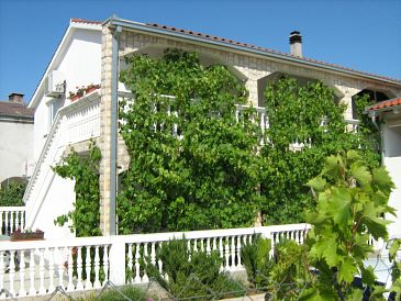 Property Vodice (Vodice) - Accommodation 11835 - Apartments with pebble beach.