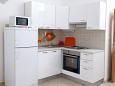 Zečevo Rtić, Kitchen u smještaju tipa apartment, WIFI.