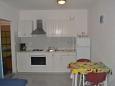 Labin, Kuchyně u smještaju tipa apartment, dopusteni kucni ljubimci i WIFI.