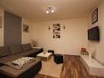 Šišan, Obývací pokoj u smještaju tipa apartment, dostupna klima i WIFI.