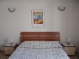 Medulin, Ložnice u smještaju tipa room, dostupna klima i WIFI.