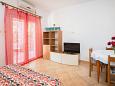 Zavala, Living room u smještaju tipa apartment, dostupna klima i WIFI.