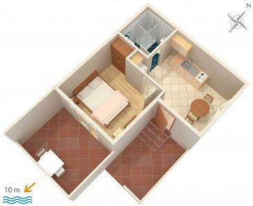 Apartament A-130-d - Apartamenty Ivan Dolac (Hvar) - 130