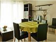 Kali, Dining room u smještaju tipa apartment, dostupna klima i WIFI.