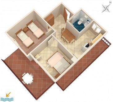 Apartament A-132-c - Apartamenty Gršćica (Korčula) - 132