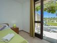Gršćica, Bedroom u smještaju tipa studio-apartment, WIFI.