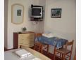Jelsa, Dining room u smještaju tipa studio-apartment, dopusteni kucni ljubimci i WIFI.