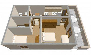 Apartament A-136-a - Apartamenty Sućuraj (Hvar) - 136
