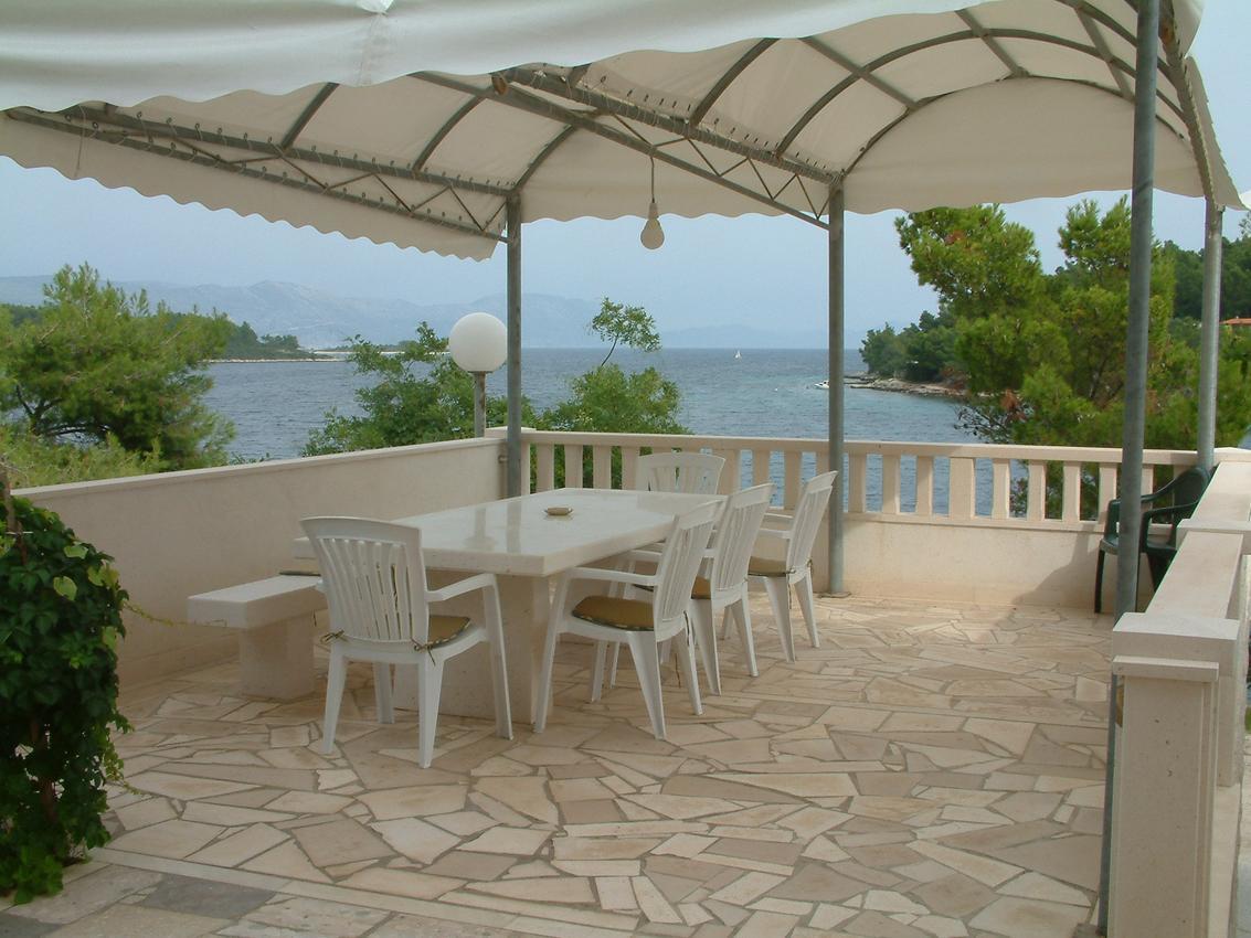 Apartmán na pláži v meste Lumbarda - 13626