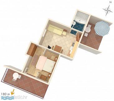Apartment A-141-b - Apartments and Rooms Hvar (Hvar) - 141