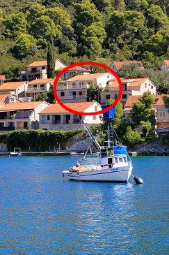 Property Brna (Korčula) - Accommodation 147 - Apartments near sea.