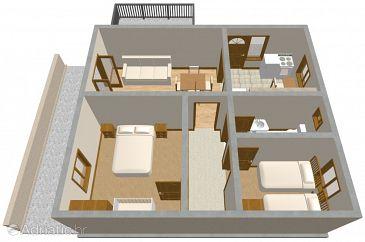 Apartment A-159-a - Apartments Vela Luka (Korčula) - 159