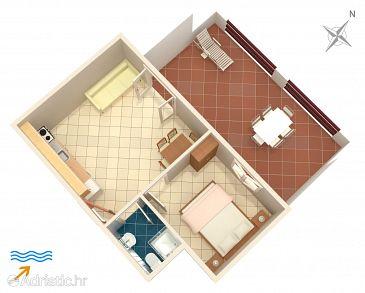 Apartment A-174-b - Apartments Tri Žala (Korčula) - 174