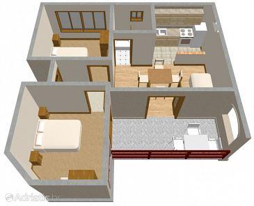Apartment A-175-b - Apartments Prižba (Korčula) - 175