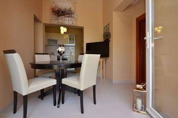 Prižba, Dining room u smještaju tipa apartment, dopusteni kucni ljubimci i WIFI.